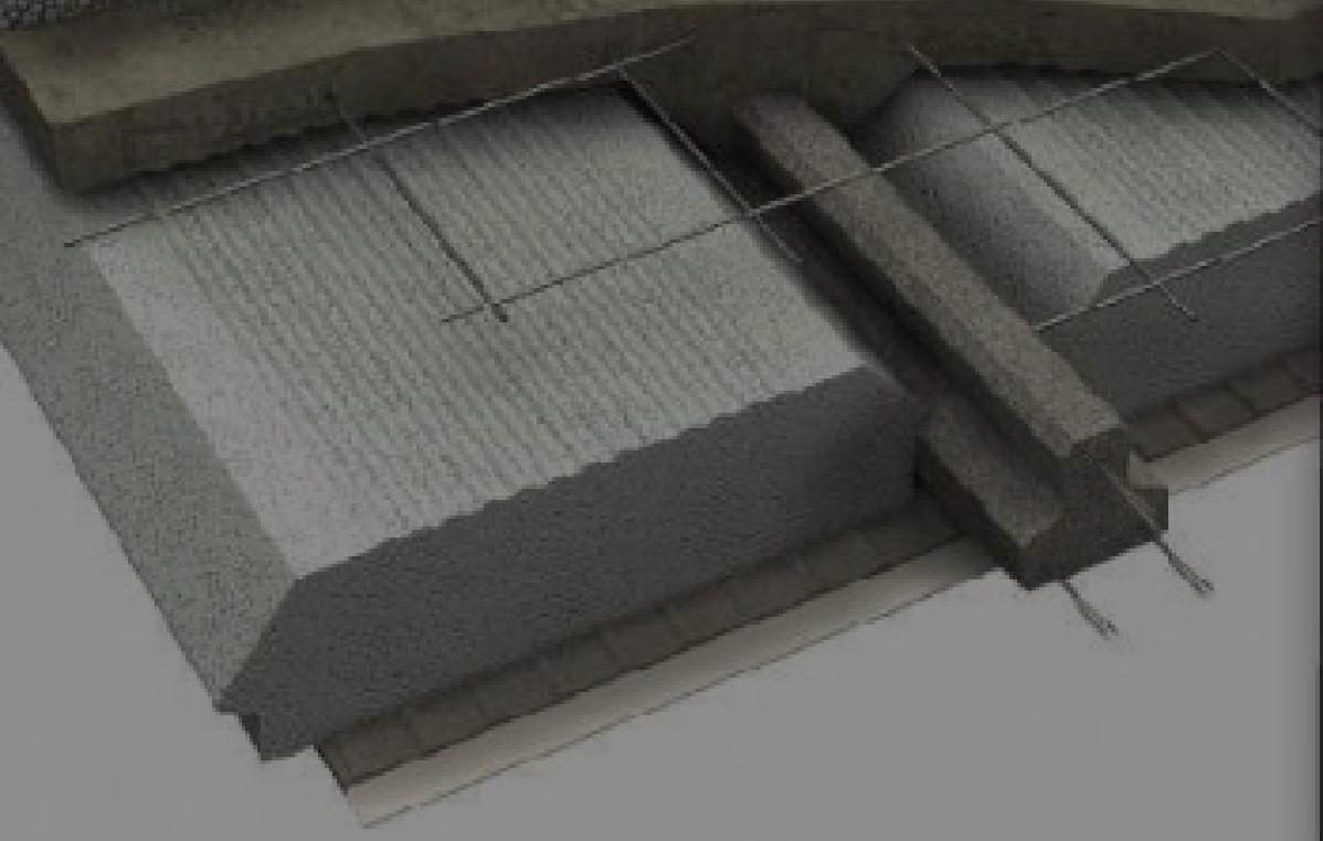 Bovedillas, placas y casetones de poliestireno expandido